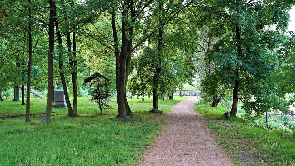 Park przy ul.Staromiejskiej w Gliwicach