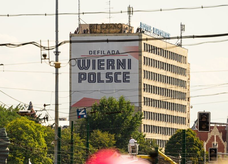 """Defilada """"Wierni Polsce"""""""