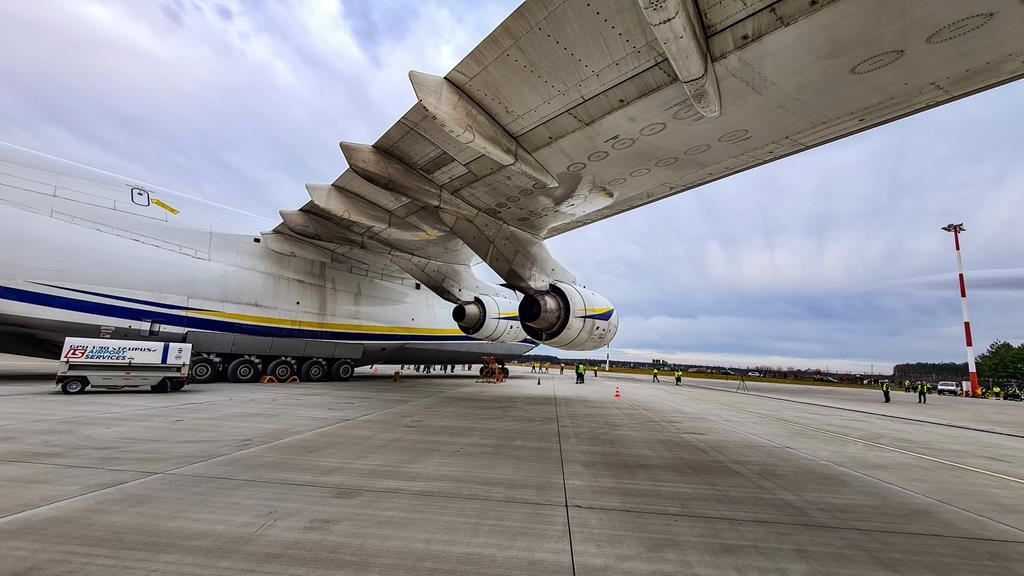 Samolot Antonow An124 Rusłan