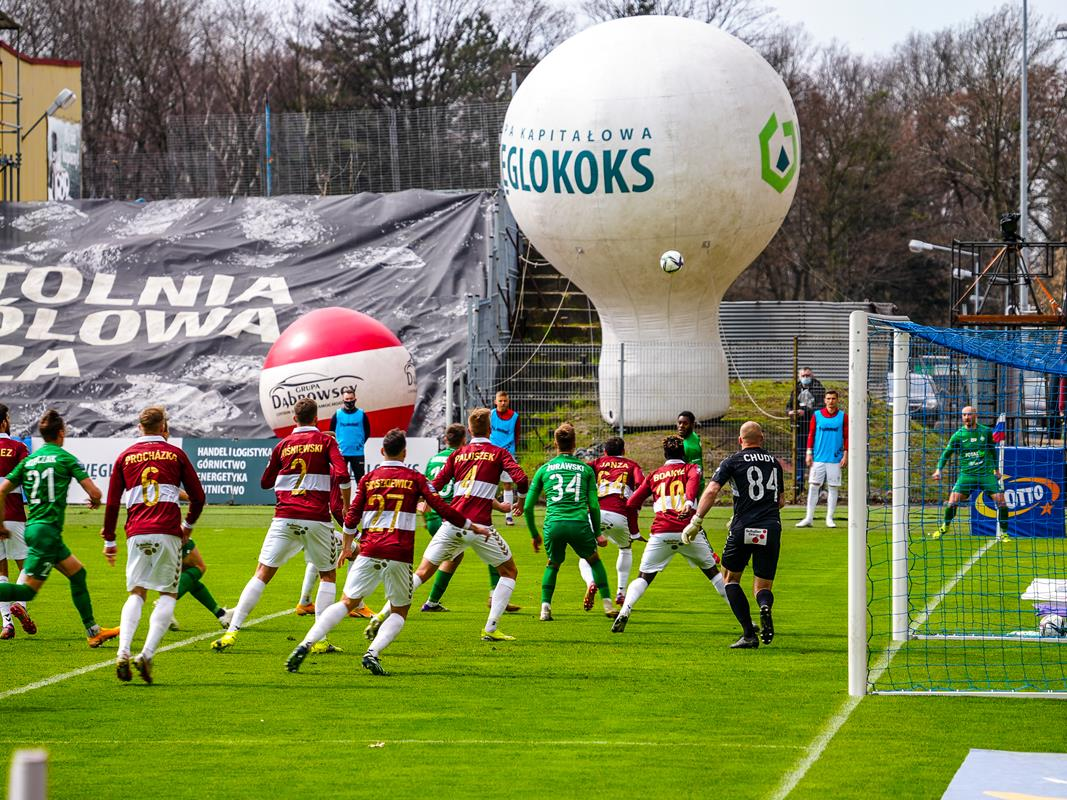 Górnik Zabrze – Warta Poznań 1:2 - 5 kwietnia 2021r.